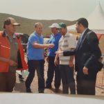 مباراة رمي الصحون في اطار مهرجان التفاح بإموزار