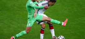 L'Allemagne s'impose face à L'Algérie (2-1)